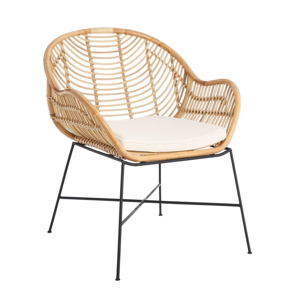 sillón ratán natural