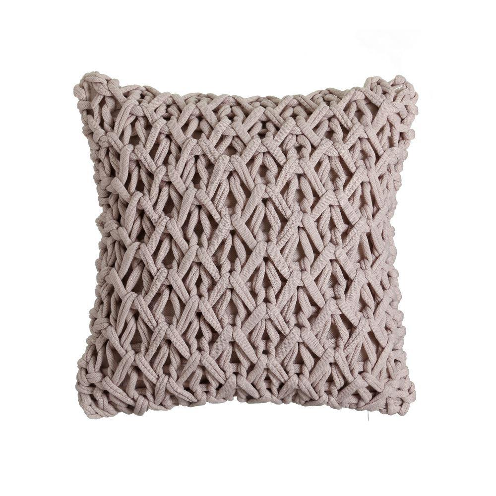 cojin crochet topo