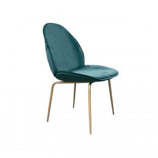 silla nw terciopelo verde