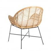 sillón rattan natural