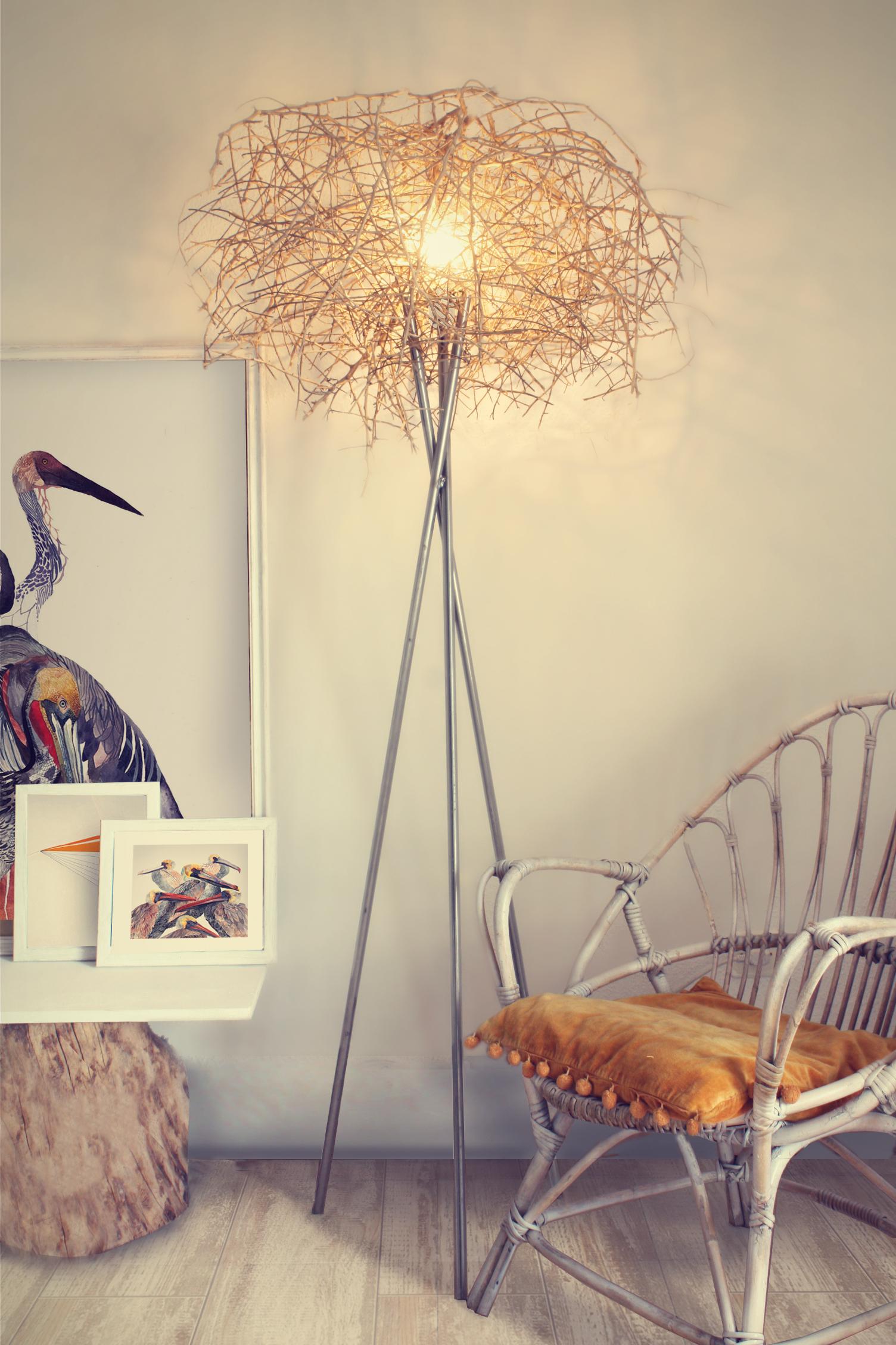 lampara nido