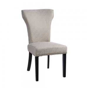 silla estampado geométrico